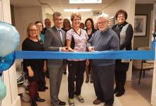 photo of the ribbon cutting at the grand opening