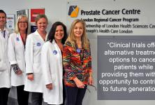 a photo of health professionals at London Health Sciences Centre
