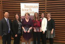 Human Touch Award winners and their nominators
