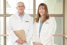 photo of Drs Muriel Brackstone and Gregor Reid